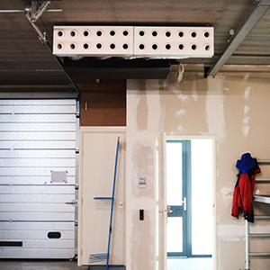 Safetycom, Zakelijk, Luchtbehandeling, Koeltechniek, Klimaattechniek, Airconditioning, WTW-unit, Warmte terugwin unit, Kanaalunit, Satellietunit